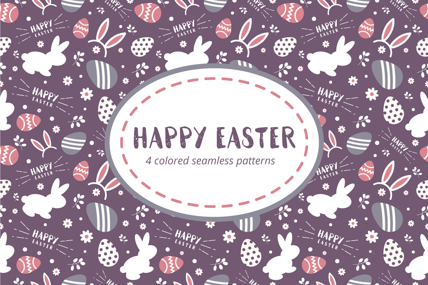 Happy Easter Free Pattern