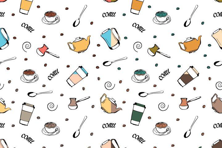 Free Coffee Pattern