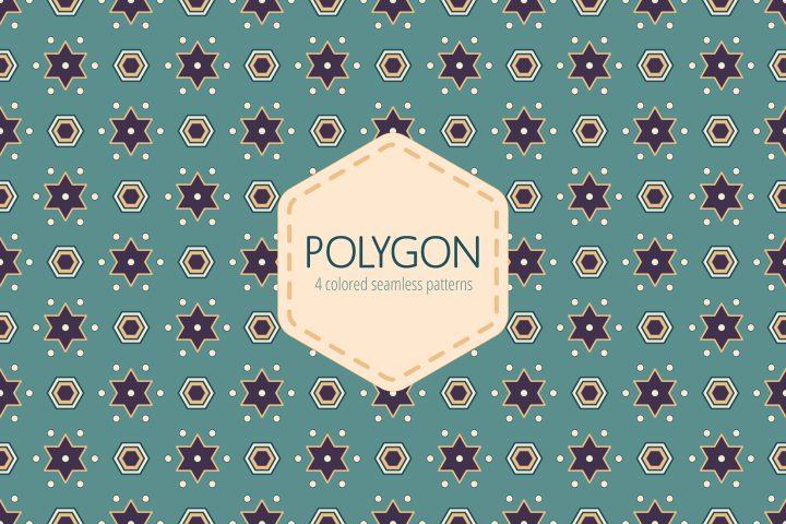Seamless Polygon Free Pattern