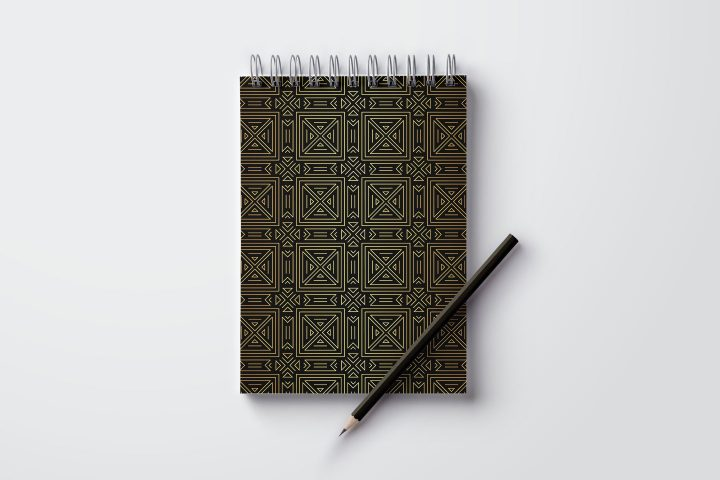 Geometric Art Deco Free Seamless Pattern