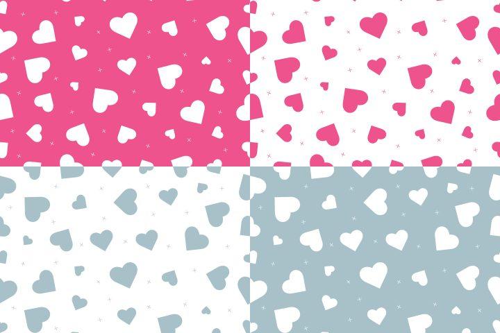 Love Hearts Free Pattern