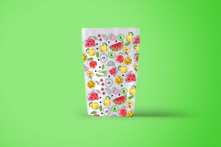 Summer Fruit Vector Seamless Free Pattern