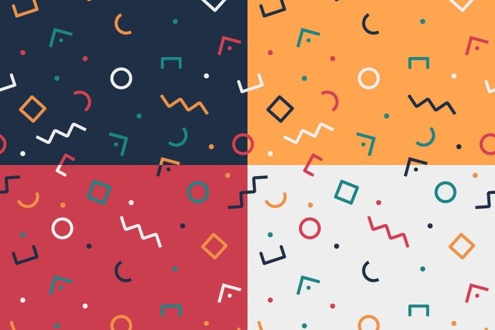 Free Universal Different Vector Pattern
