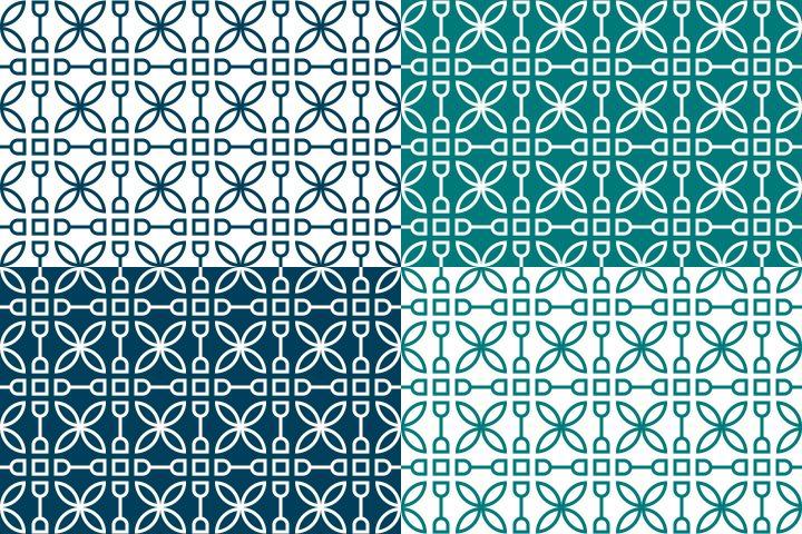 Universal Geometric Free Pattern
