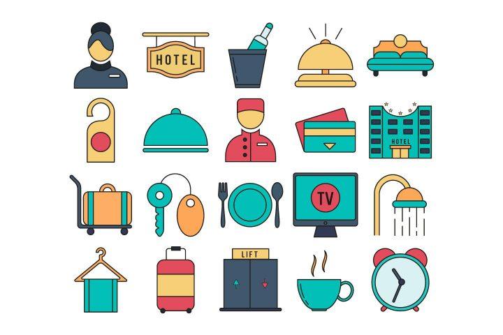Hotel Free Icon Set