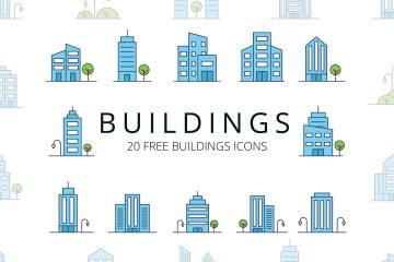 Buildings-Vector-Free-Icon-Set