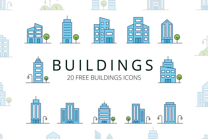 Buildings-Vector-Free-Icon-Set