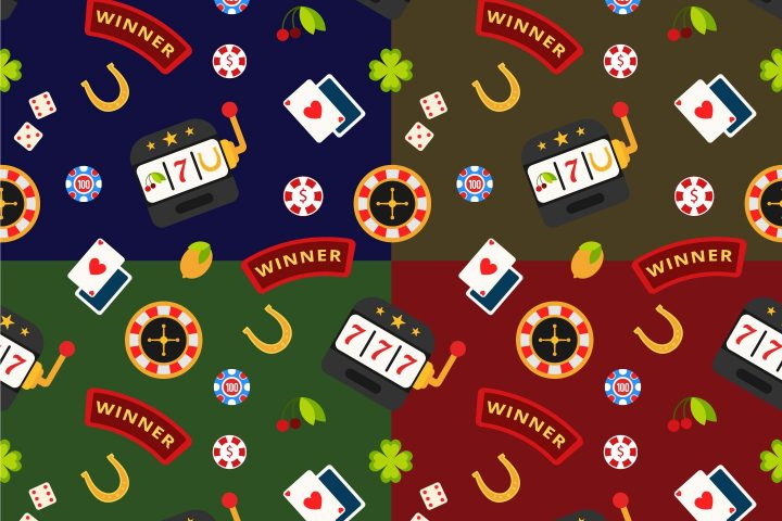 Casino Vector Free Seamless Pattern
