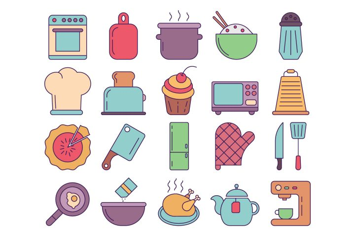 Cooking Vector Free Icon Set