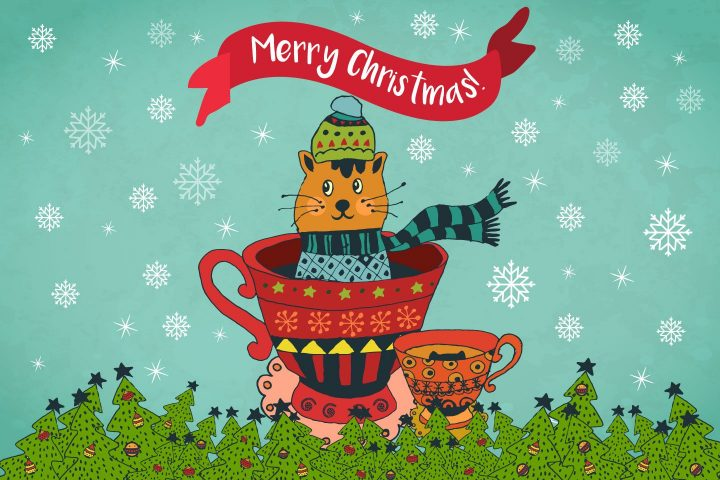 Merry Christmas Free Illustration Art