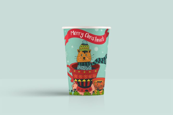 Merry Christmas Free Illustration Art