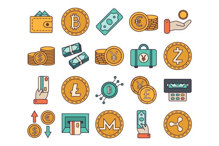 Money Vector Free Icon Set