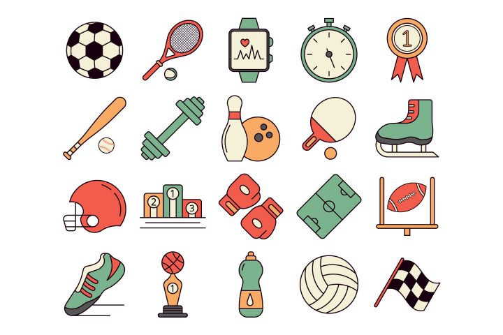 Sport Vector Free Icon Set