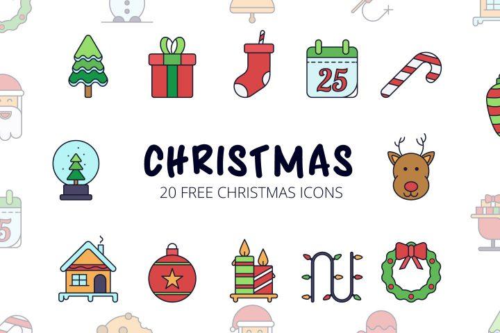 Christmas Vector Free Icon Set