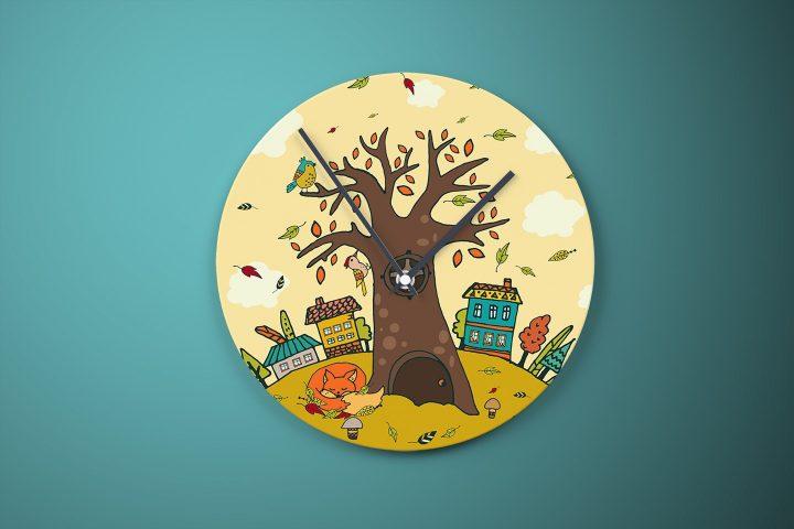 Happy Autumn Free Vector Illustration