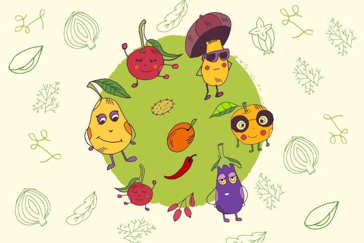 World Vegan Day Free Vector Illustration