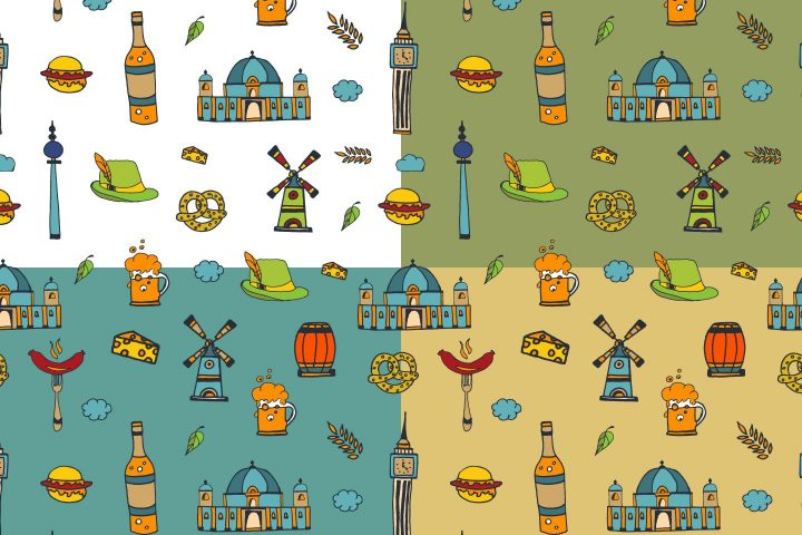 Berlin Vector Free Pattern