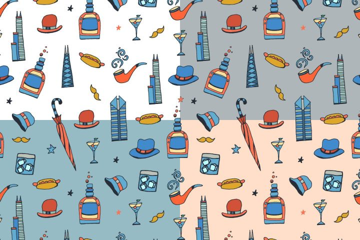 Chicago Vector Free Pattern