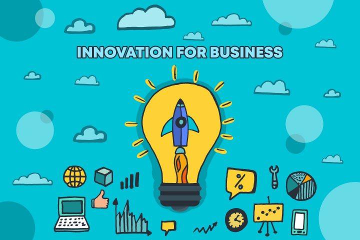 Innovation For Business Vector Free Illustration