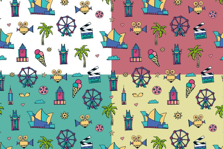 Los Angeles Vector Free Pattern
