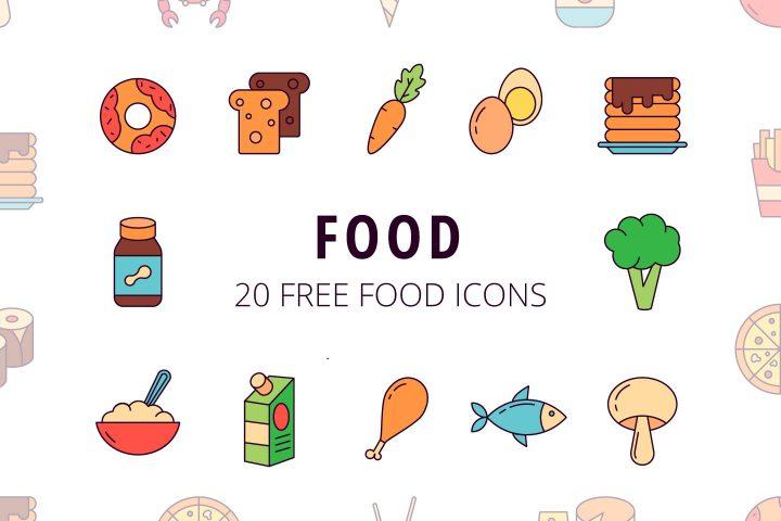 Food Vector Free Icon Set