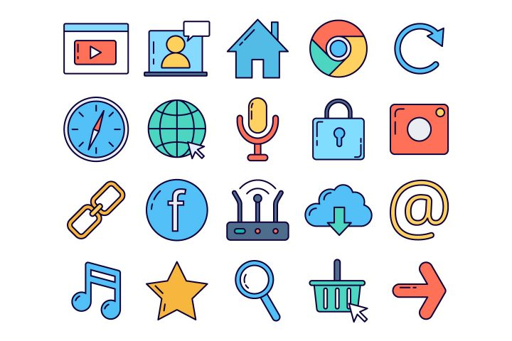 Internet Vector Free Icon Set