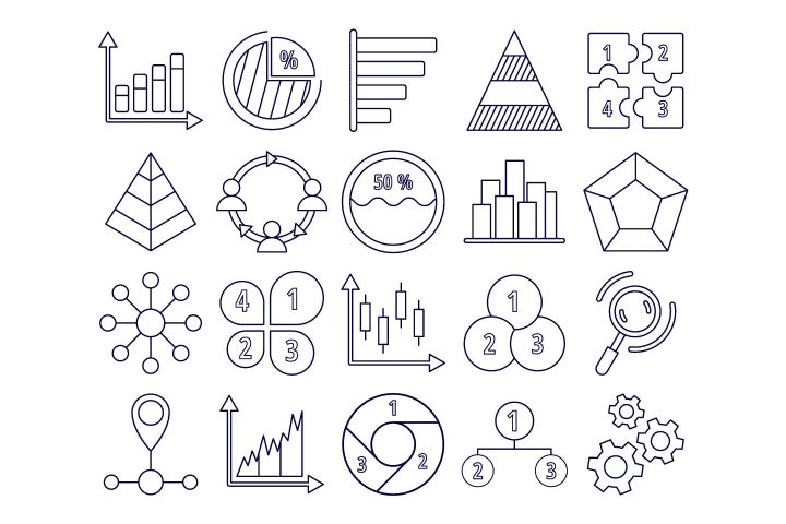 Infographics Vector Free Icon Set