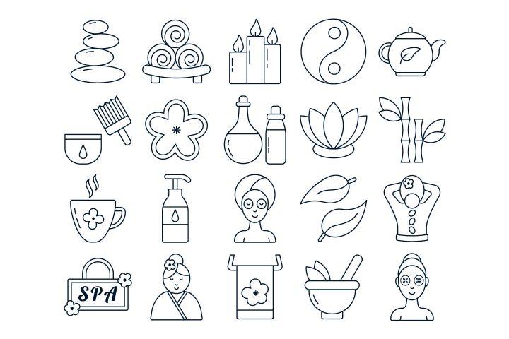 Spa Vector Free Icon Set