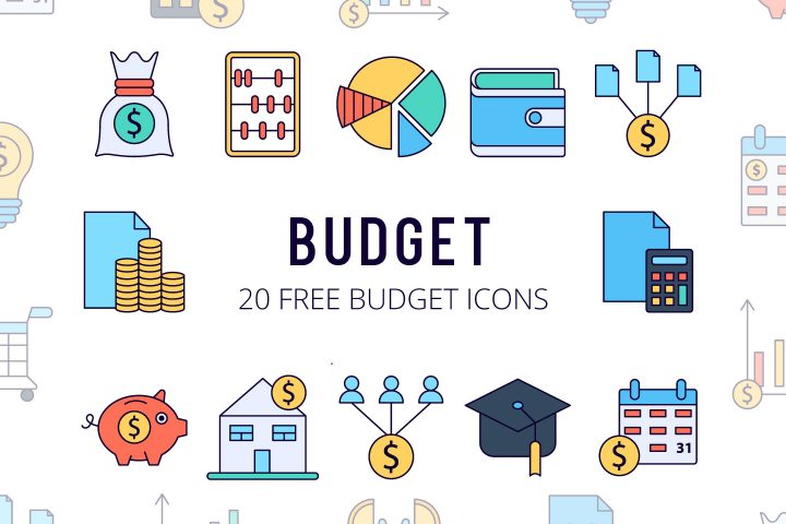 Budget Vector Free Icon Set