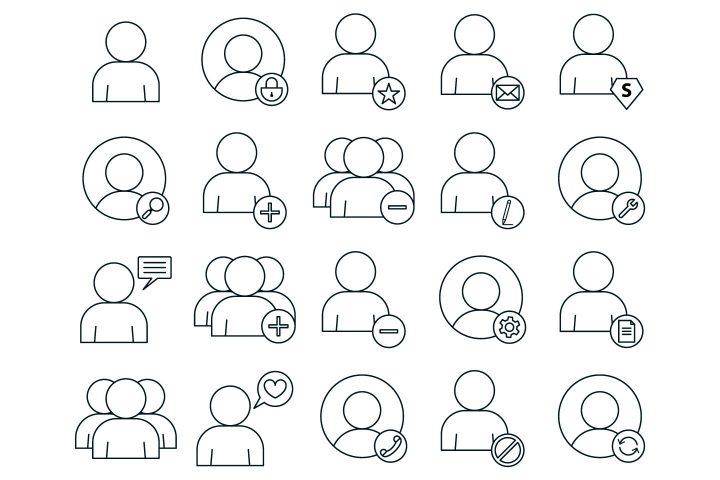 User Vector Free Icon Set