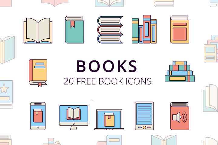 Book Vector Free Icons Set
