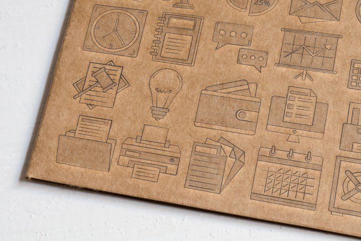 20 Business Icons Free Vector Art