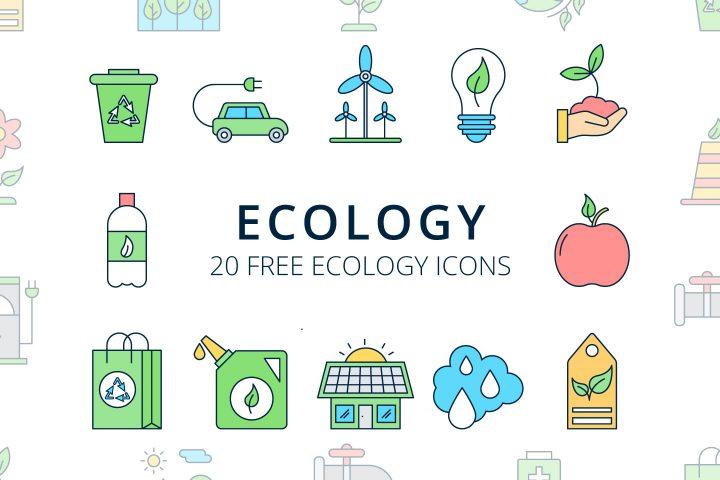 Ecology Vector Free Icon Set