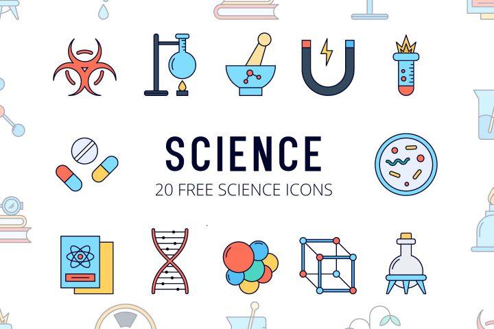 Science Vector Free Icon Set