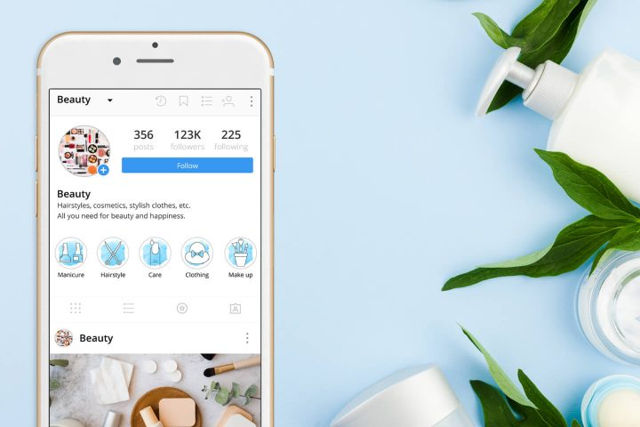 Free 100 Beauty Instagram Story Highlight Icons