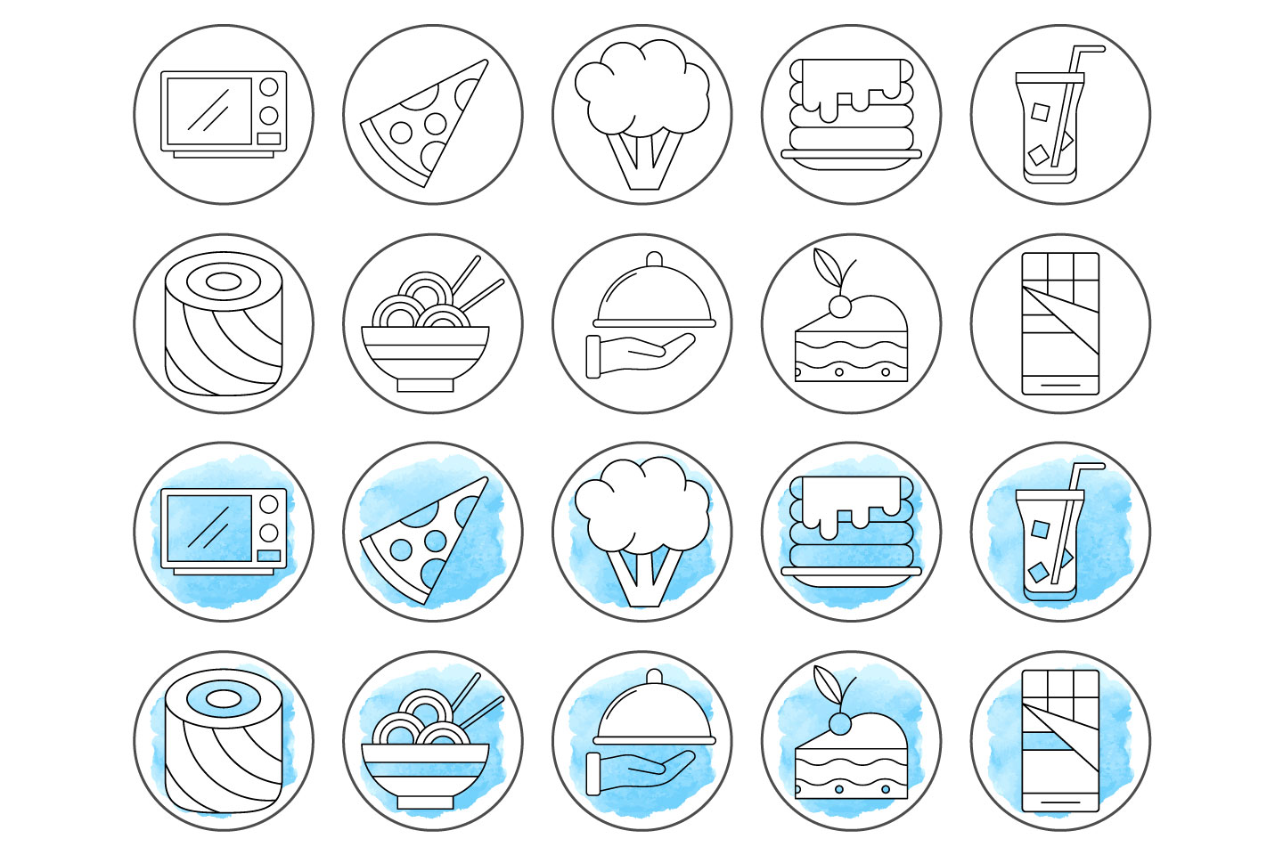 10 Free Cooking Instagram Story Highlight Icons Graphicsurf Com