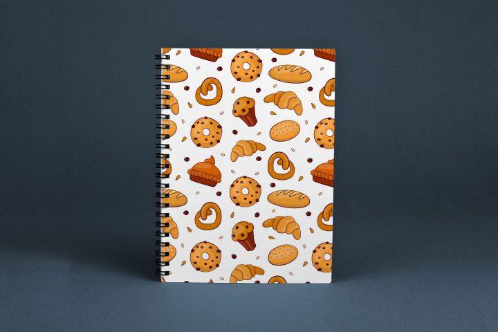 Bakery Vector Free Seamless Pattern
