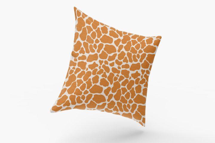 Giraffe Skin Vector Free Seamless Pattern