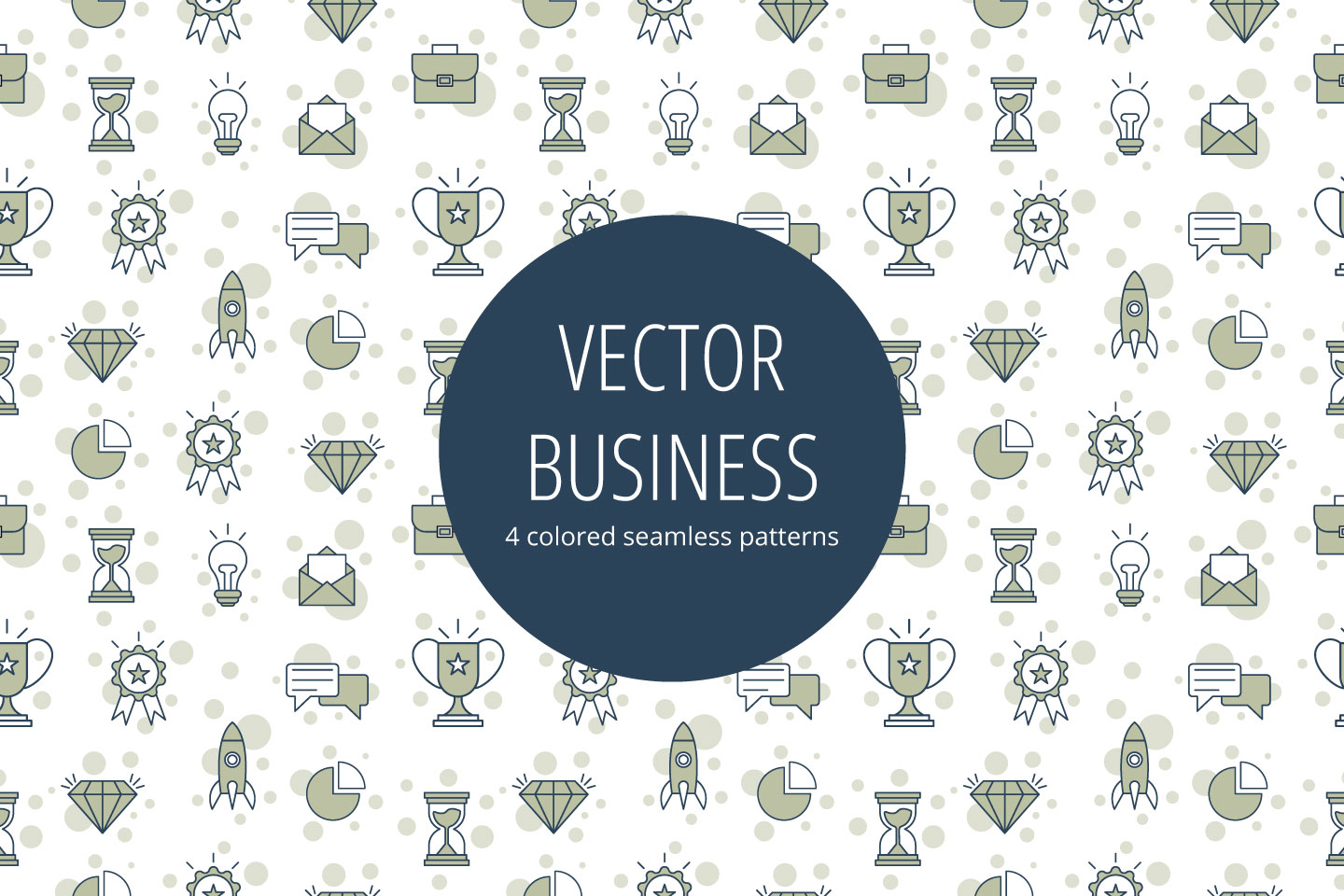 Vector Linear Business Pattern