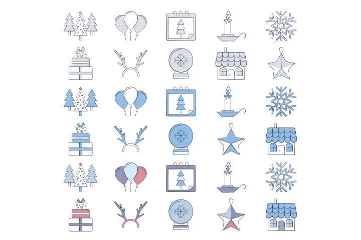 10 Free Christmas Icon