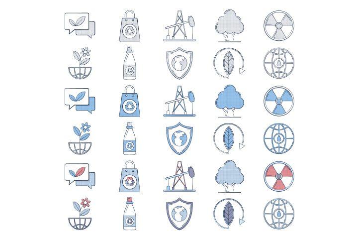 10 Free Ecology Icon