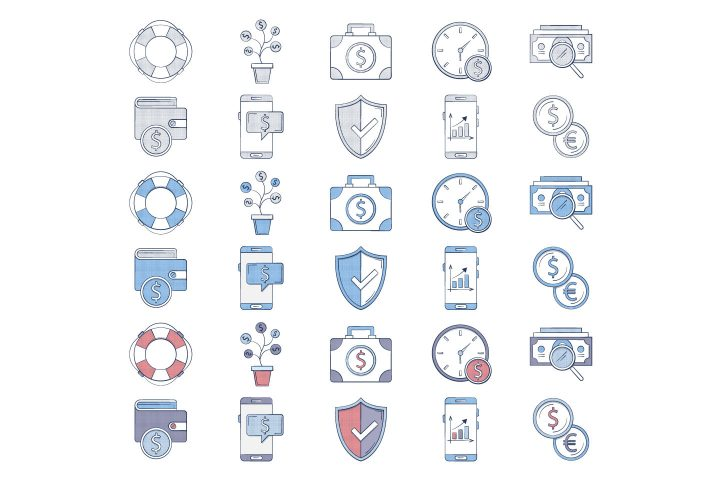 10 Free Finance Icon