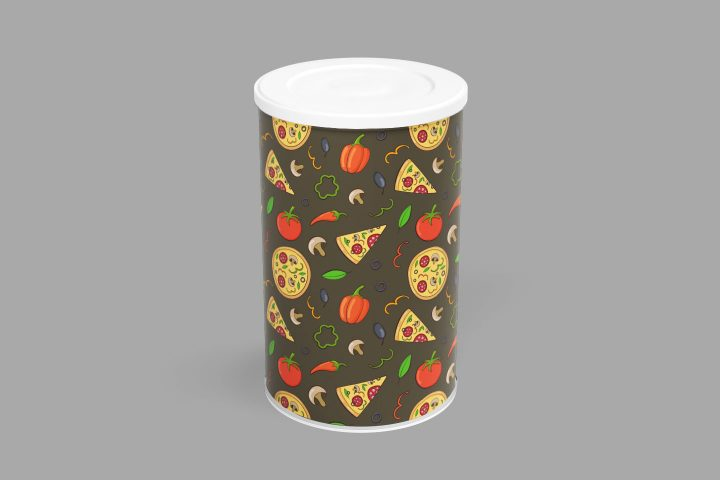 Doodle Pizza Vector Free Seamless Pattern