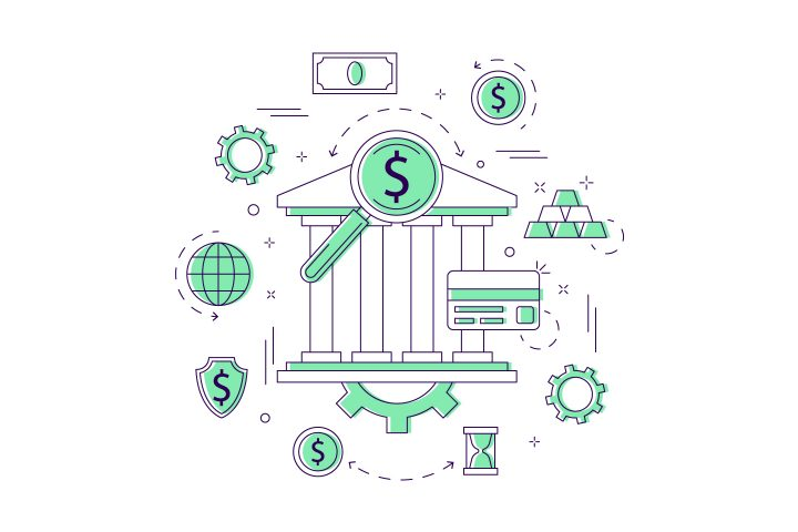 Banking Vector Free Illustration