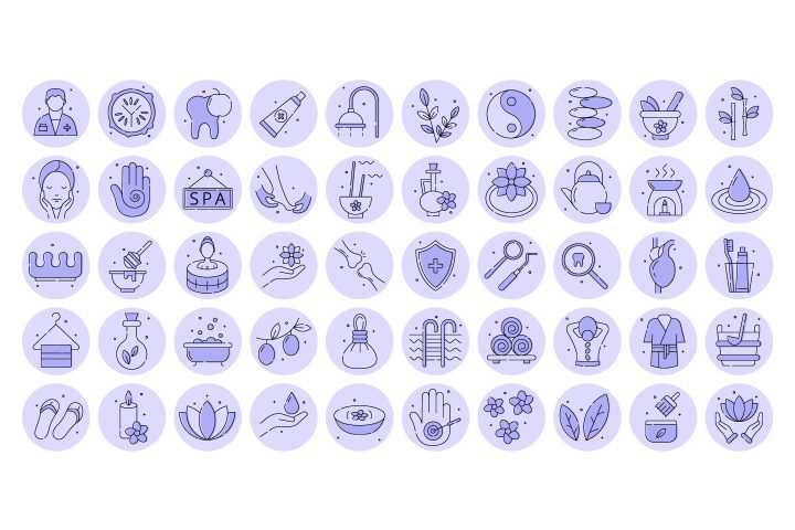 Free Pack 100 Icons Health Instagram Story Highlight