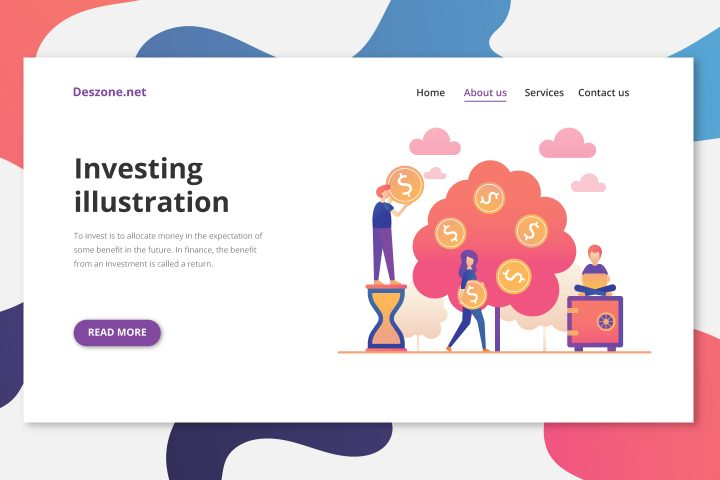 Investing Vector Free Illustration