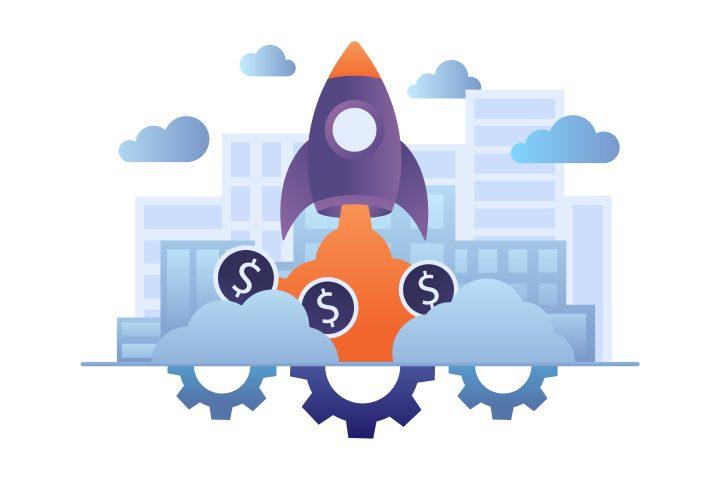 Startup Vector Free Illustration