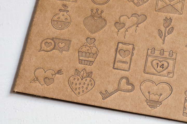 50 Valentine's Day icons (AI, EPS, SVG, PNG files)