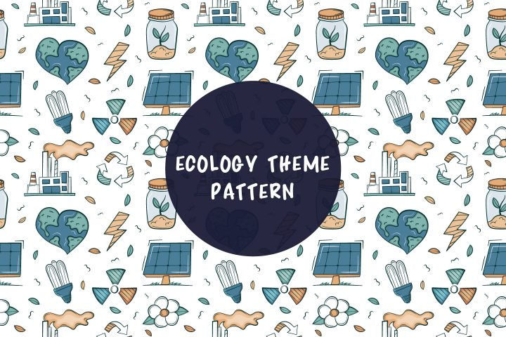 Color Vector Ecology Theme