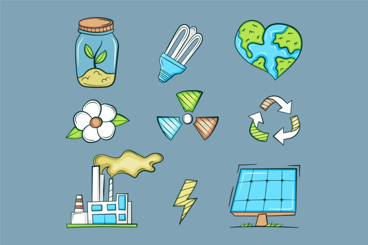 Colored Ecology Icons